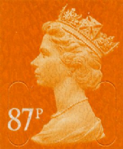87p Discount GB Postage Stamp